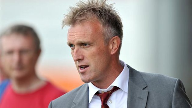 Manager Steve Davis was left disappointed as Crewe threw away a lead against Tranmere