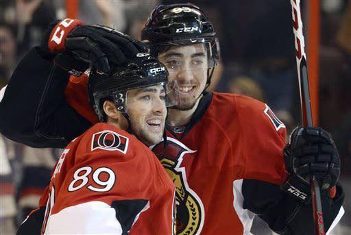 Senators stop Caps' streak at 8 with 3-1 victory