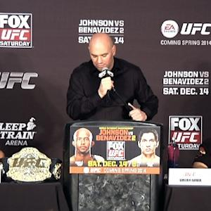 UFC on FOX 9: Post-Fight Press Conference Highlights