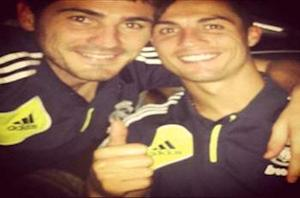 Casillas posts picture of himself and Ronaldo on Facebook amid fallout claims