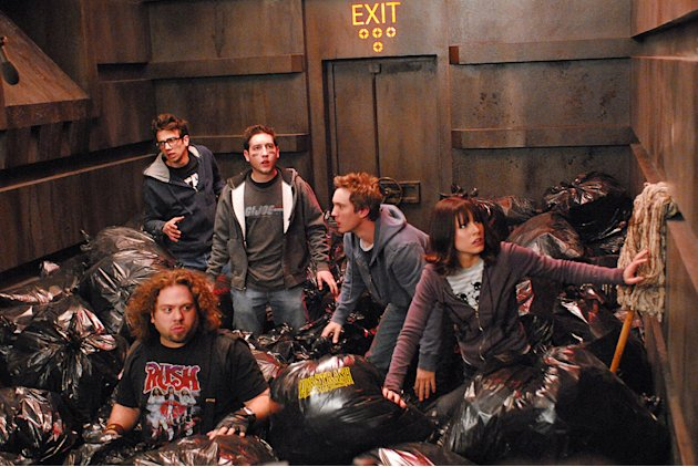 Fanboys Production Stills Weinstein Company 2008 Jay Baruchel Dan Fogler Chris Marquette Sam Huntington Kristen Bell