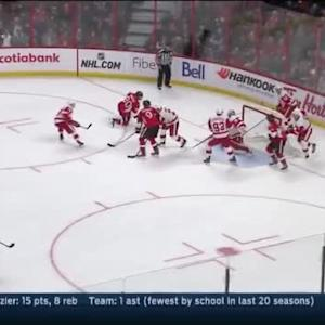 Jimmy Howard Save on Patrick Wiercioch (12:51/1st)