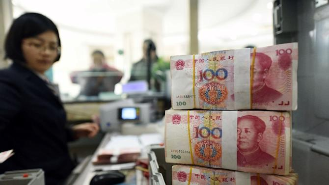 Worries about China's economy have pushed the yuan to a five-year low, with foreign exchange reserves seeing their first-ever annual decline last year as Beijing tried to prevent a more drastic devaluation