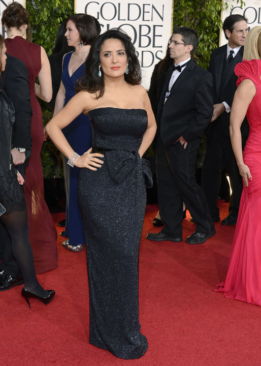 NBC's &quot;70th Annual Golden Globe Awards&quot; - Arrivals: Salma Hayek
