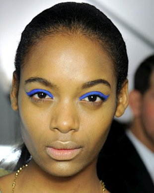 Racing Stripe Eyeliner at Anna Sui Fall 2012