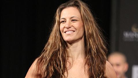 UFC Women's Bantamweight Contender Miesha Tate to Appear in ESPN the Magazine's 'Body Issue'