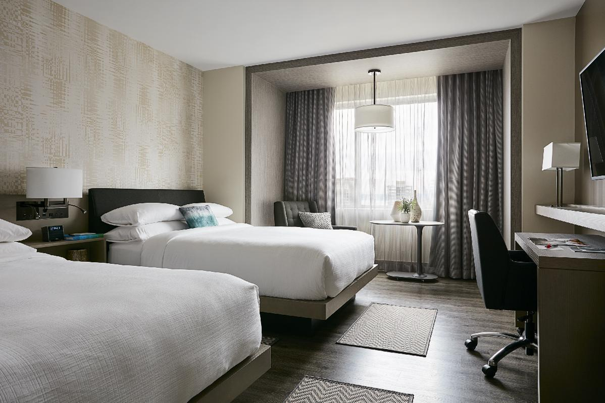 The desk is back: Marriott is redesigning hotel rooms
