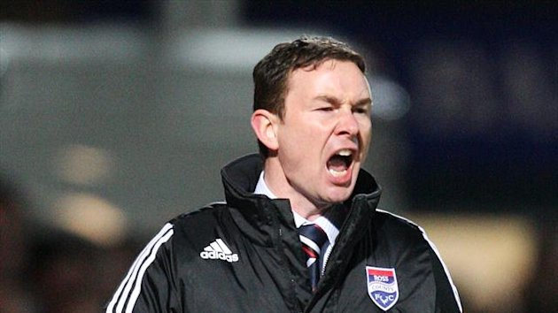 Ross County boss Derek Adams (PA Sport)