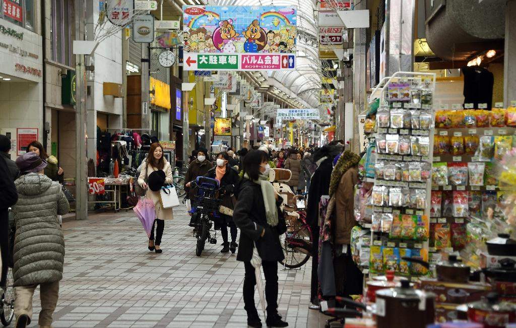 Japan core inflation falls for 5th straight month