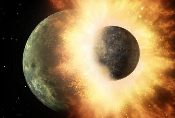 Proof of Moon's Birth in Giant Impact Found in Zinc: Study