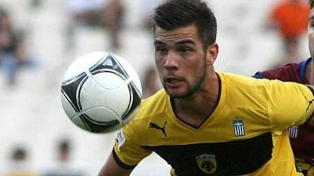 Christos Arkoudas of AEK Athens