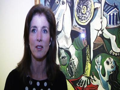 Caroline Kennedy: JFK Library Picasso wonderful