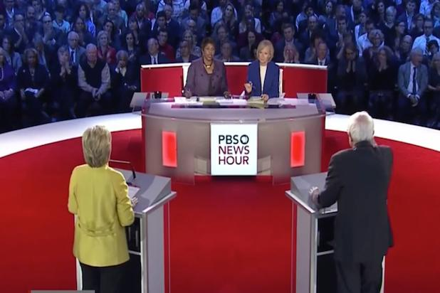 Democratic Debate Tops 8 Million Viewers Across PBS, CNN