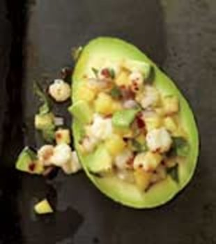 pineapple hominy avocados