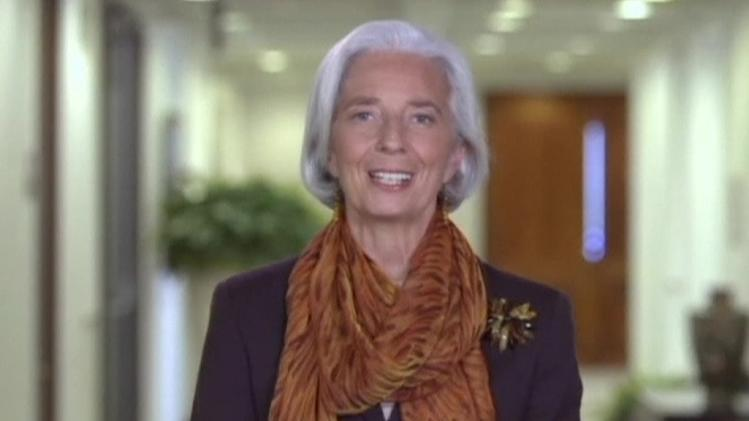 Lagarde recognizes women on International Women's Day
