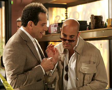 Tony Shalhoub and Stanley Tucci USA Network's Monk