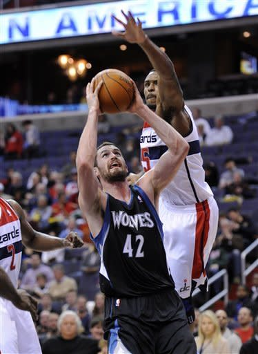 Timberwolves win 93-72 to keep Wizards winless
