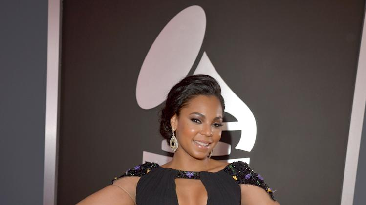 Two words for Ashanti: cleavage and knickers.