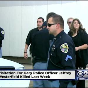 Memorial Service Held For Slain Gary Police Officer