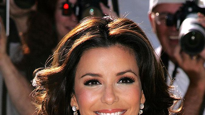 Eva Longoria at the 2007 ABC UpFronts.