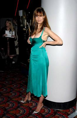 Carol Alt at the NY premiere of Columbia/MGM's Basic Instinct 2