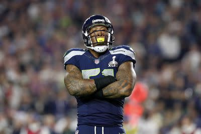 Bruce Irvin's April Fools' Day joke is bad