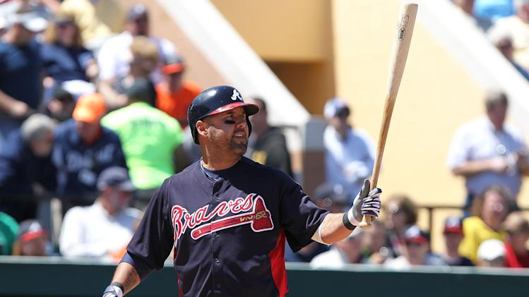 MLB: Spring Training-Atlanta Braves at Detroit Tigers
