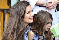Katie Holmes and Suri Cruise | Photo Credits: Alo Ceballos/FilmMagic