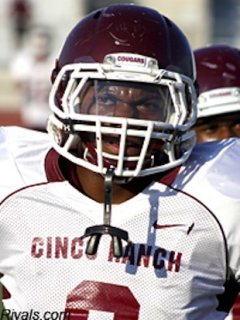 Cinco Ranch running back Jamel James — Rivals.com