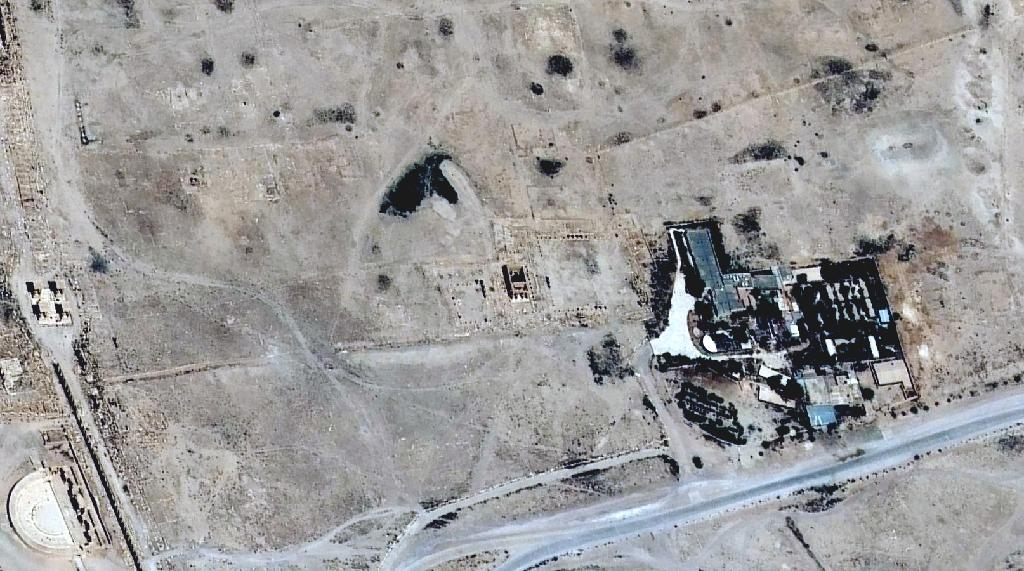 Satellite images confirm Palmyra temple destruction: UN