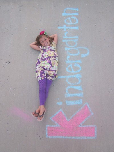Make use of sidewalk chalk