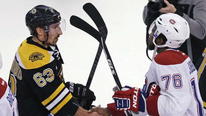 Bruins' Lucic not sorry for handshake line comment