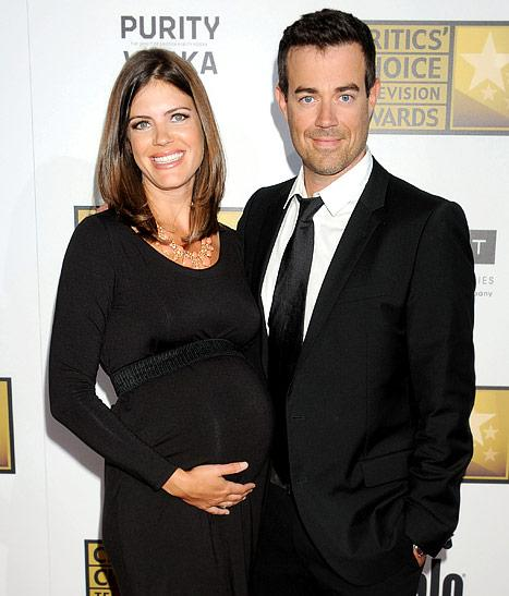 "Carson Daly: My Girlfriend Is Giving Birth ""in Weeks"""