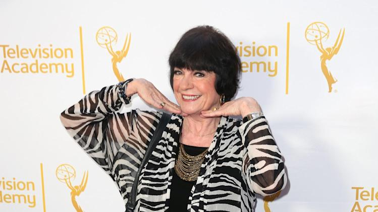 Jo Anne Worley arrives at the Television Academy's 66th Emmy Awards Performers Peer Group Celebration at the Montage Beverly Hills on Monday, July 28, 2014, in Beverly Hills, Calif. (Photo by Matt Sayles/Invision for the Television Academy/AP Images)