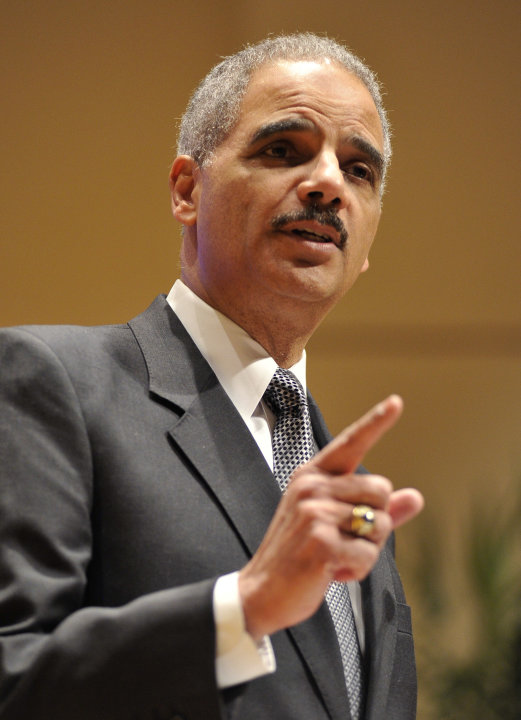 Attorney General Eric Holder speaks at the Northwestern University law school, Monday, March 5, 2012 in Chicago. Holder said Monday that the decision to kill a U.S. citizen living abroad who poses a t