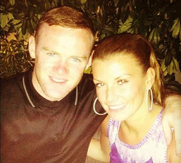 "Celebrity photos: Wayne and Coleen Rooney have been enjoying a sunny holiday in LA for the past few days. Wayne tweeted this cute photo of the pair having dinner, with the caption: ""Me and Coleen in l"
