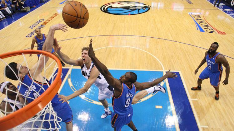 Oklahoma City Thunder v Dallas Mavericks - Game Four