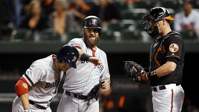 Red Sox rout Orioles 12-3 behind Buccholz