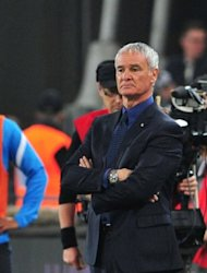 Inter Milan coach Claudio Ranieri looks on during the Serie A football match between Juventus and Inter Milan in Turin on Sunday