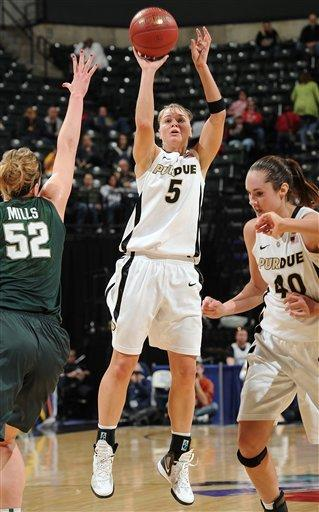 No. 21 Purdue defeats Michigan State 73-64