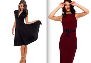 Norma Kamali for Wal-Mart dresses, $20 each