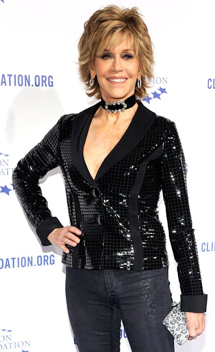 Jane Fonda The Clinton FoundationsA Decade Of Difference Gala