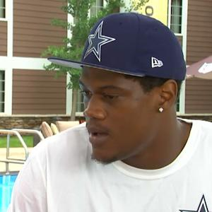 Dallas Cowboys rookie defensive end Randy Gregory: Former Buccaneers defensive end Simeon Rice a good pass-rushing model