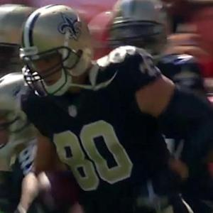New Orleans Saints tight end Jimmy Graham 1-yard touchdown catch