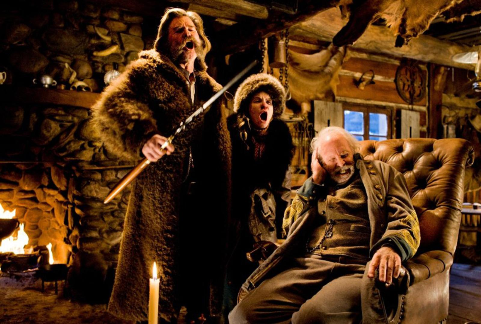 Martin Is Not Happy Kurt Russell Smashed Its Priceless Antique Guitar in Hateful Eight