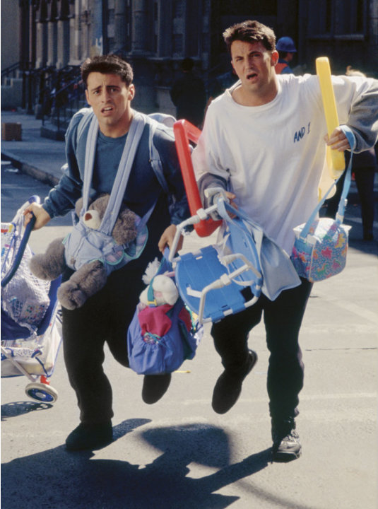 Chandler Bing and Joey Tribbiani&nbsp;&hellip;