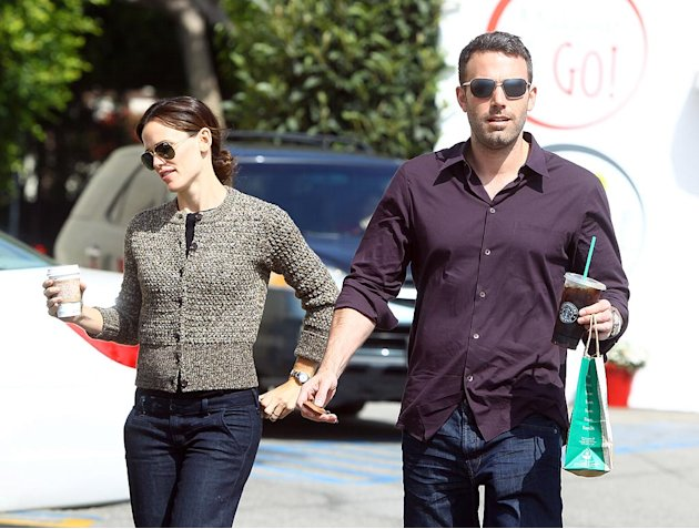 Garner Affleck Starbucks