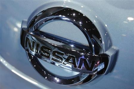 Nissan Motor Co's logo is pictured at the company headquarters in Yokohama, south of Tokyo December 5, 2012. REUTERS/Yuriko Nakao
