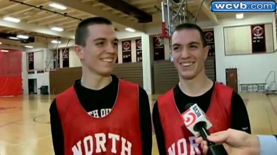 Twins lead basketball team