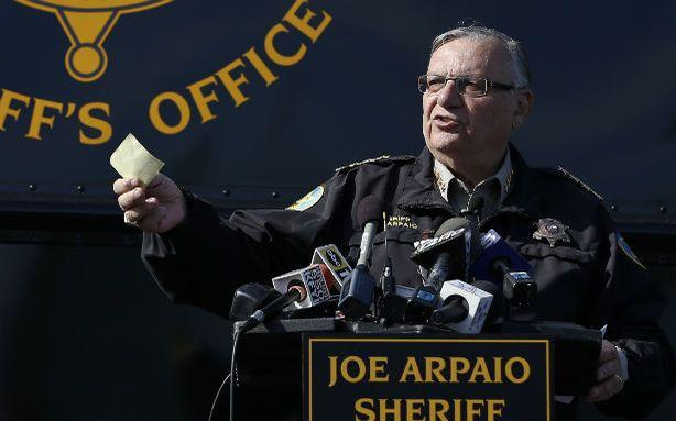 Who Mailed Explosives to Sheriff Joe Arpaio?